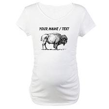 Custom Bison Sketch Shirt