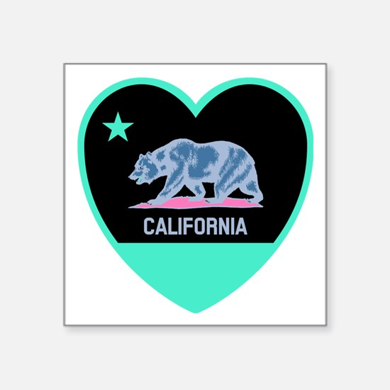 Love California - Bright Sticker