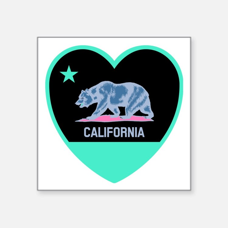 Love California - Bright Sticker