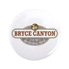 "Bryce Canyon National Park 3.5"" Button"