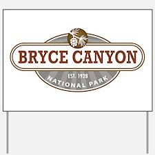 Bryce Canyon National Park Yard Sign