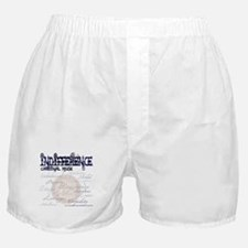 Acedia - Sloth / Indifference Boxer Shorts