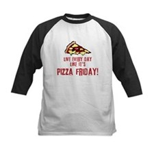 Pizza Friday v2 Baseball Jersey