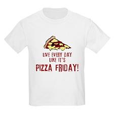 Pizza Friday v2 T-Shirt