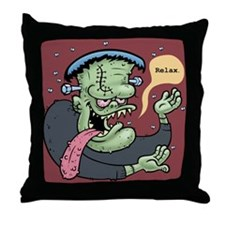 Franky Said So Throw Pillow