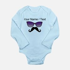 Custom Sunglasses Mustache Body Suit