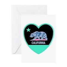 Love California - Bright Greeting Cards