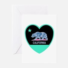 Love California - Bright Greeting Cards
