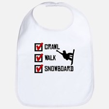 Crawl Walk Snowboard Bib