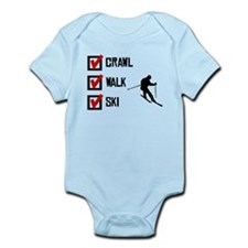 Crawl Walk Ski Body Suit