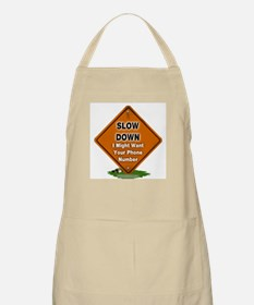 Slow Down BBQ Apron