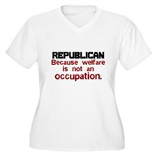Republican Plus Size T-Shirt