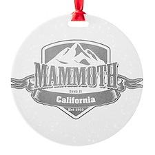 Mammoth California Ski Resort 5 Ornament