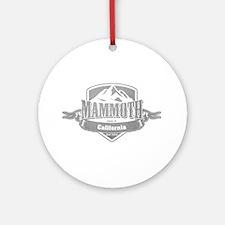 Mammoth California Ski Resort 5 Ornament (Round)