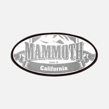Mammoth California Ski Resort 5 Patches