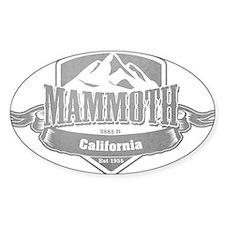 Mammoth California Ski Resort 5 Decal