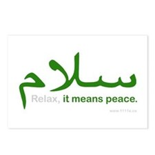 Relax It Means Peace | Postcards (Package of 8)