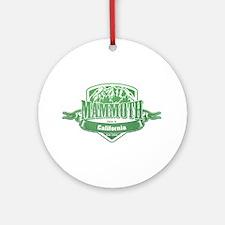Mammoth California Ski Resort 3 Ornament (Round)