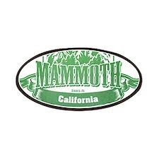 Mammoth California Ski Resort 3 Patches