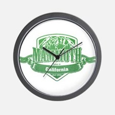 Mammoth California Ski Resort 3 Wall Clock