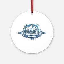 Mammoth California Ski Resort 1 Ornament (Round)