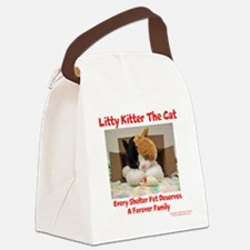 Litty Kitter - Shelter Pet Canvas Lunch Bag