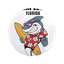 """Naples, Florida 3.5"""" Button"""