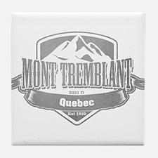 Mont Tremblant Quebec Ski Resort 5 Tile Coaster