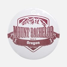 Mount Bachelor Oregon Ski Resort 2 Ornament (Round