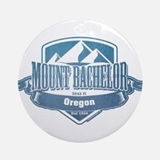 Mount Bachelor Oregon Ski Resort 1 Ornament (Round