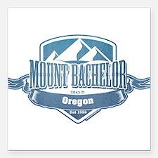Mount Bachelor Oregon Ski Resort 1 Square Car Magn
