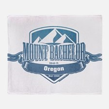 Mount Bachelor Oregon Ski Resort 1 Throw Blanket