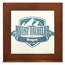 Mount Bachelor Oregon Ski Resort 1 Framed Tile