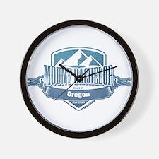 Mount Bachelor Oregon Ski Resort 1 Wall Clock