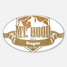 Mt Hood Oregon Ski Resort 4 Decal