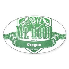 Mt Hood Oregon Ski Resort 3 Decal