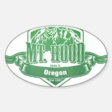 Mt Hood Oregon Ski Resort 3 Decal