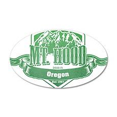 Mt Hood Oregon Ski Resort 3 Wall Sticker