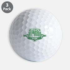 Mt Hood Oregon Ski Resort 3 Golf Ball