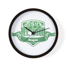 Mt Hood Oregon Ski Resort 3 Wall Clock