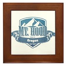 Mt Hood Oregon Ski Resort 1 Framed Tile