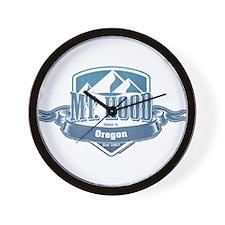 Mt Hood Oregon Ski Resort 1 Wall Clock