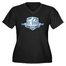Mt Hood Oregon Ski Resort 1 Plus Size T-Shirt