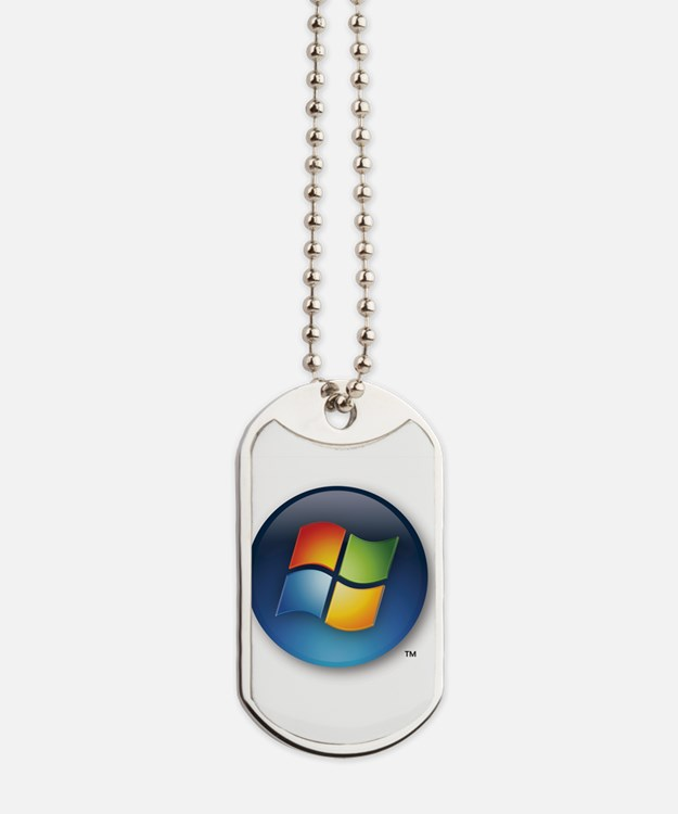 Windows Logo Dog Tags