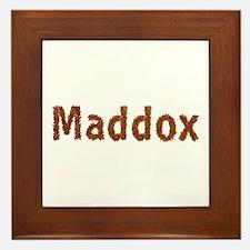 Maddox Fall Leaves Framed Tile