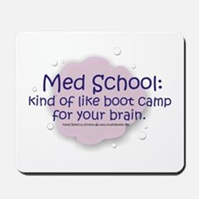 Med School Boot Camp Mousepad