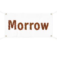 Morrow Fall Leaves Banner