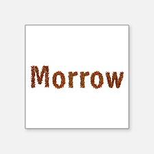 Morrow Fall Leaves Square Sticker
