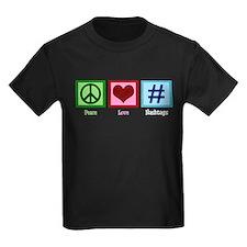 Peace Love Hashtags T