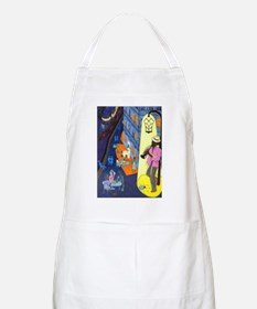 New Orleans, here music is being born, every Apron